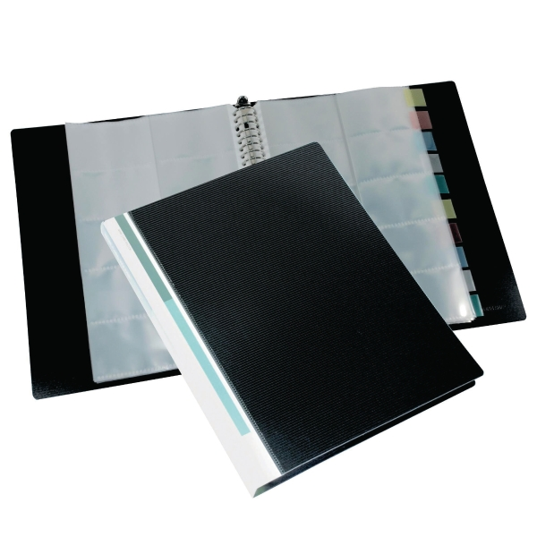 Bindermax Refillable Business Card Album 500 Pockets Capacity