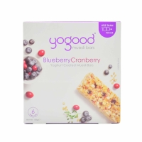 YOGOOD BLUEBERRY & CRANBERRY MUESLI BAR 138G - BOX OF 6