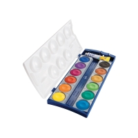 PELIKAN K12 WATER COLORS 12 ASSTD COL