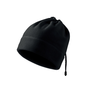 Fleecová čepice Adler Practic černá