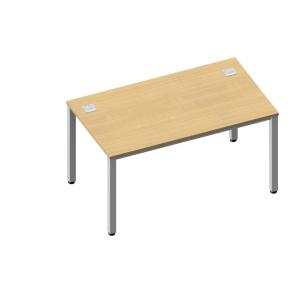 Pracovní stůl Nowy Styl Easy Space 140 x 80 x 72 cm, světlý písek
