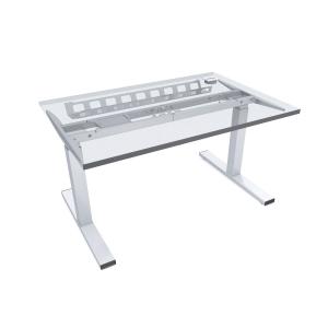 Pracovní elektrický stůl Nowy Styl Easy Space E-model, 140 x 80 cm světlý písek