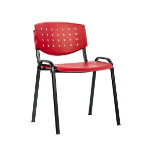 Konferenční židle Antares Taurus, červená