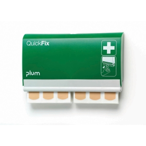 Dávkovač náplastí Plum QuickFix 5501 + 2 x 45 kusů voděodolných náplastí