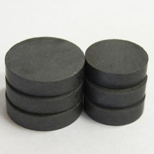 Černé magnety, průměr 16 mm, 50 kusů