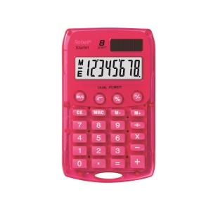 Kapesní kalkulačka Rebell Starlet, Růžová