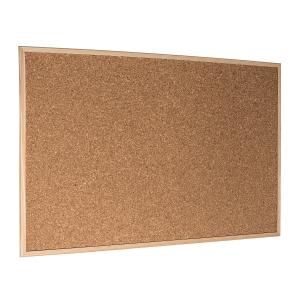 Korková tabule Economy 90 x 60 cm