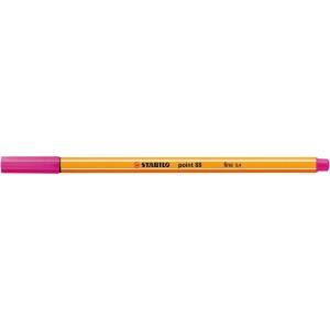 Stabilo® point 88® jemný liner, 0,4 mm, růžový