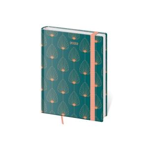 Diář denní A5 Vario Blue - 14,3 x 20,5 cm, 352 stran
