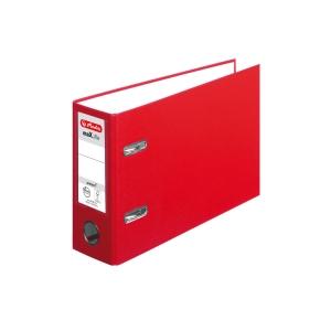 Pákový pořadač Herlitz maX.file protect A5, červený