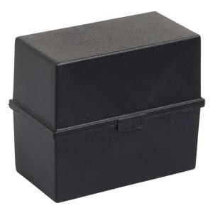 Kartotéka Exacompta na indexové kartičky A5, černá