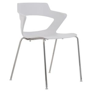 Konferenční židle Antares Aoki, bílá
