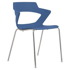 Konferenční židle Antares Aoki, modrá