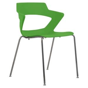 Konferenční židle Antares Aoki, zelená