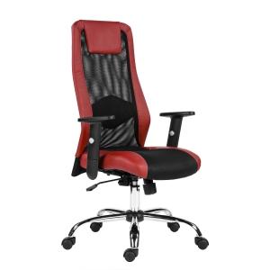 Kancelářská židle Antares Sander, červená