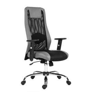 Kancelářská židle Antares Sander, šedá