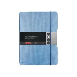 Zápisníky Herlitz my.book Flex A5, čtverečkovaný, modrý