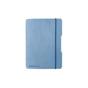 Zápisníky Herlitz my.book Flex A6, čtverečkovaný, modrý