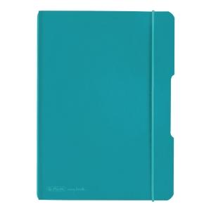 Zápisníky Herlitz my.book Flex A5, čtverečkovaný, tyrkysový
