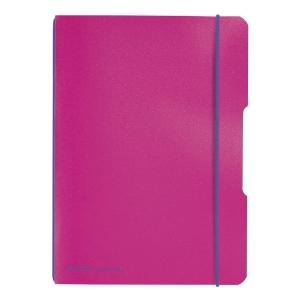 Zápisníky Herlitz my.book Flex A5, čtverečkovaný, růžový