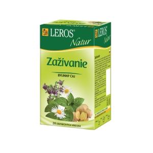 Čaj Leros Natur, trávení, 20 porcí