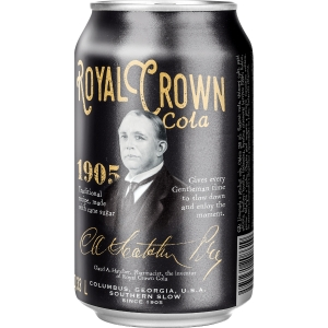 Cola Royal Crown, classic, plechovka, 0,33 l