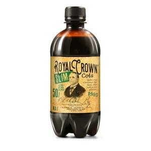 Royal Crown Cola, slim, 0,5 l, 6 kusů