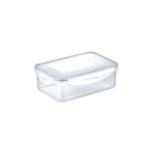 Tescoma dóza na potraviny, Freshbox, hranatá, plast, 1,5 l, průhledná