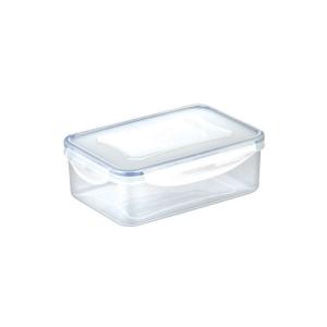 Tescoma dóza na potraviny, Freshbox, hranatá, plast, 2,5 l, průhledná