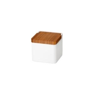 Tescoma stylová dóza, Online, bílá / dřevo
