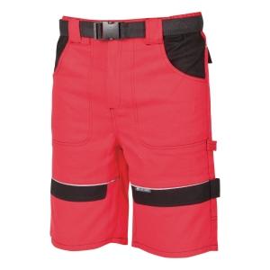Montérkové krátké kalhoty ARDON® COOL TREND, velikost 56, červené