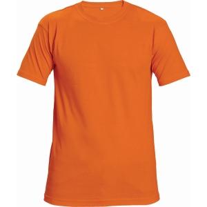 Tričko s krátkym rukávem ČERVA TEESTA FLUORESCENT, velikost L, oranžové