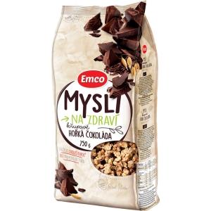 Emco křupavé musli, tmavá čokoláda, 750 g