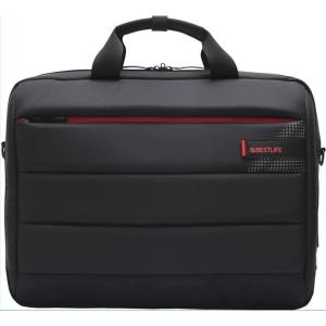 Designová 15,6  taška BESTLIFE na notebook s USB a Type-C konektorem, černá