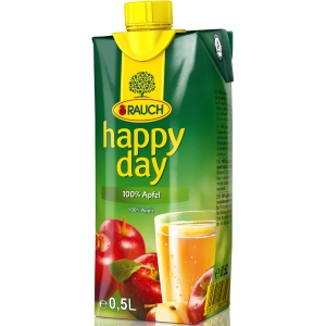 Happy Day jablko 0.5l