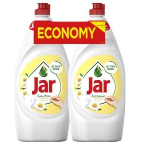 Prostředek na umývání nádobí JAR, heřmánek, 2x 900 ml