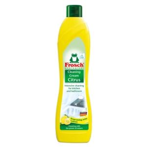 Čisticí krém, Frosch, citrón, 500 ml