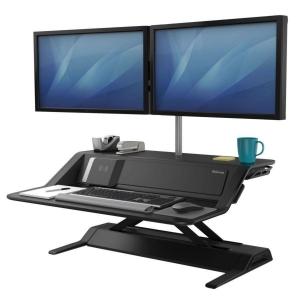 Pracovní stanice Fellowes 8081001 Sit-Stand Lotus DX™ černá