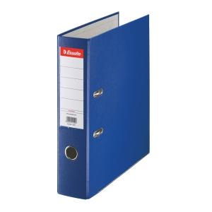 Pákový pořadač Esselte Economy, šířka hřbetu 7,5 cm, modrý
