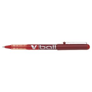 Roller Pilot V-ball červený 0,5 mm