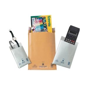 Tašky bílé bublinkové Mail Lite 120 x 210 mm, 10 kusů/balení