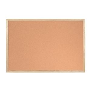 Korková tabule Bi-Office s dřevěným rámem - 30 x 40 cm