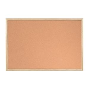 Korková tabule Bi-Office s dřevěným rámem - 40 x 60 cm