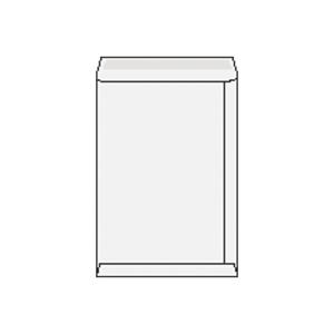Tašky bílé B4 (250 x 353 mm), 250 ks/balení