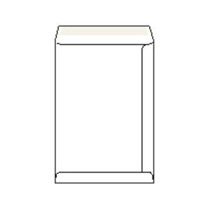 Tašky samolepicí bílé C4 (229 x 324 mm), 250 kusů/balení