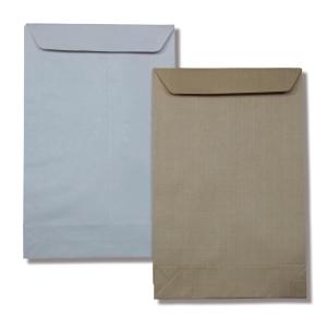 Hnědé tašky s rozšířitelným dnem B4 (245 x 352 mm), 50 ks/balení
