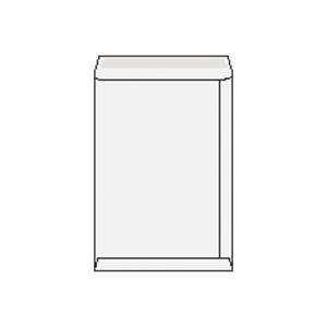 Tašky bílé B4 (250 x 353 mm), 50 ks/balení
