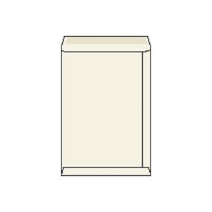 Tašky bílé recyklované B4 (250 x 353 mm), 50 ks/balení