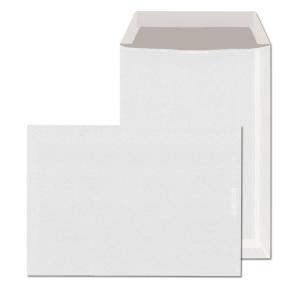 Tašky jednoduché bílé B5 (176 x 250 mm), 50 kusů/balení