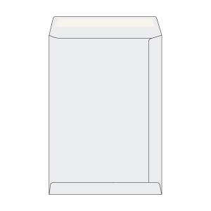 Tašky jednoduché bílé C4 (229 x 324 mm), 50 kusů/balení